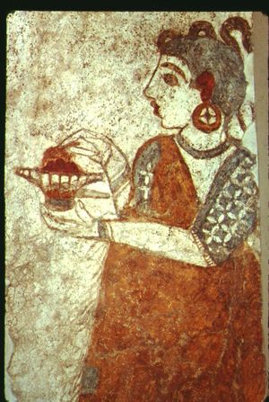 2.unknown minoan painting