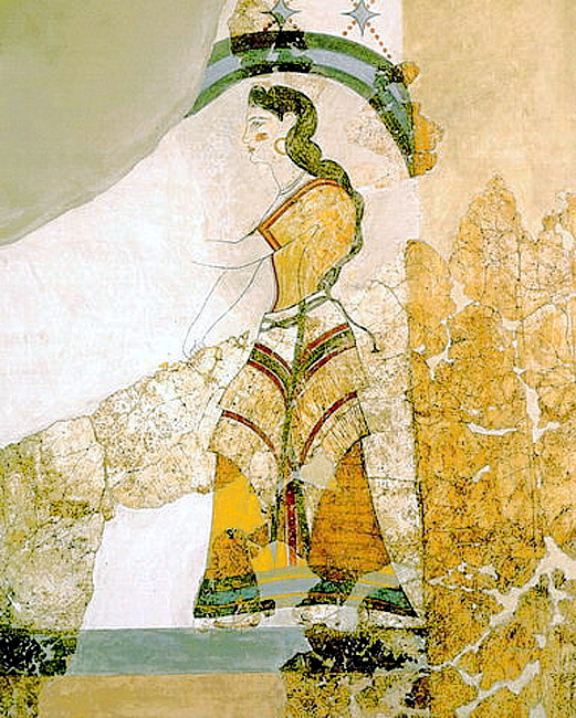 Minoan_Lady_with_Papyri_Fresco_Art_650px